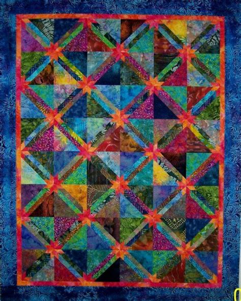 Batik Patchwork Quilt - 133 best images about batik fabric on craft