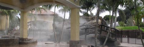 Commercial Patio Misters by Cooling Systems Misting Systems Patio Misting Systems