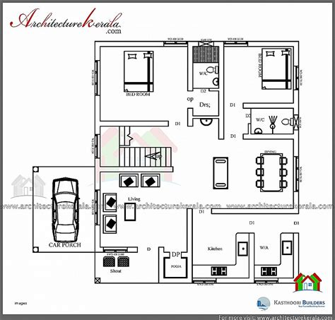 1000 sq ft house plans 3 bedroom kerala style house plan luxury 1000 sq ft house plans 1 bedro hirota