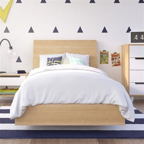 Headboard Kit by Platform Bed With Headboard In Maple 223805 343905 Kit