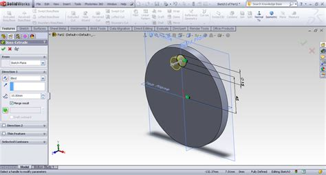 solidworks tutorial grabcad tutorial fill pattern in solidworks grabcad