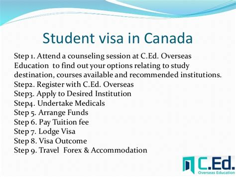 student visa requirements for study in canada want to study in canada