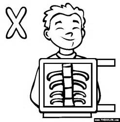x coloring pages alphabet coloring pages page 2