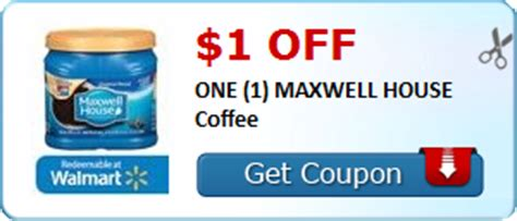 printable maxwell house coupons new 1 off maxwell house coffee coupon