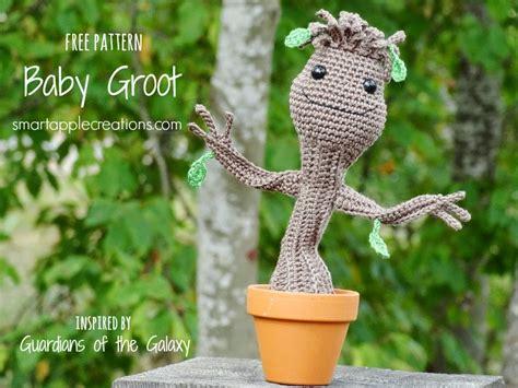 amigurumi pattern groot smartapple creations amigurumi and crochet free crochet