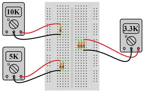 experiment with resistors series and parallel circuits learn sparkfun