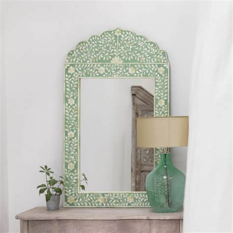 bone inlay spiegel green bone inlay mirror mirrors graham and green