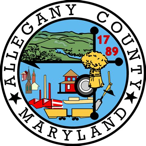 the electrification of allegany county maryland books file seal of allegany county maryland png