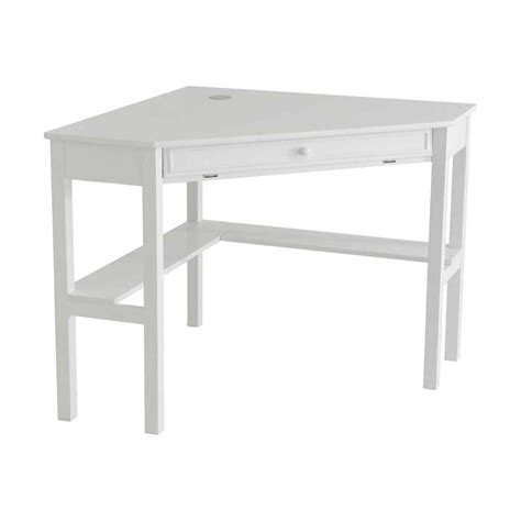Ikea Computer Armoire White Corner Computer Desk Home Office