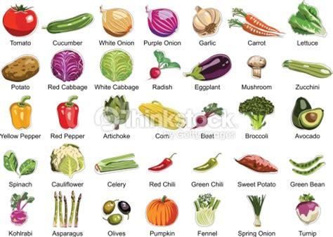 4 vegetables that start with b colecci 243 n de iconos de 35 verduras arte vectorial thinkstock
