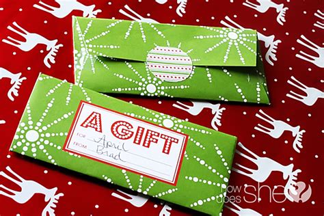 printable money envelope christmas free christmas gift giving printables how does she