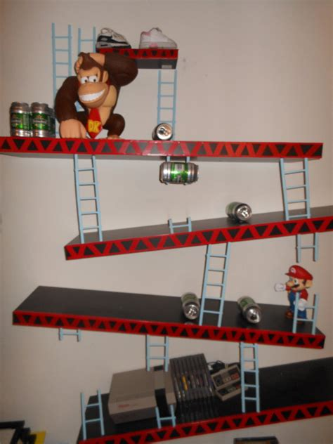 Nintendo Shelf items similar to nintendo kong shelves mario on etsy