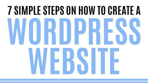 7 Tips To Create A Free Website by Book Review 7 Simple Steps On How To Create A