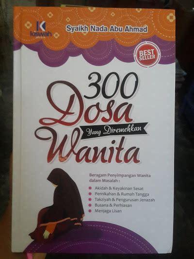 300 Dosa Yang Diremehkan Manusia Cover buku 300 dosa yang diremehkan wanita toko muslim title