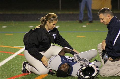 trainer school get to howard county high school athletic trainers howard county times