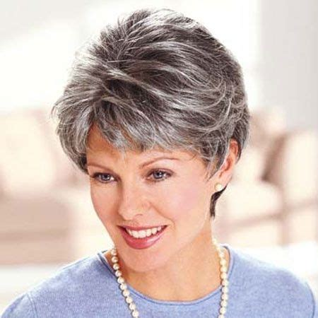 hair highlights for salt and pepper hair 17 best images about grey highlights on pinterest jamie