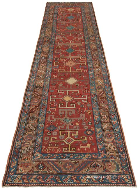 Running Rugs by Heriz Antique Rug In Runner Size
