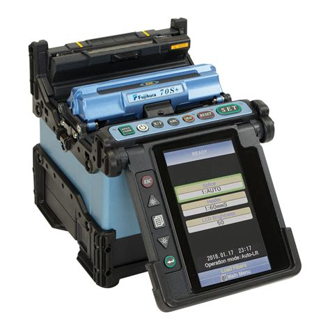 Fusion Splicer Fujikura Fsm 70s Bergaransi Resmi fujikura 62s alignment model fusion splicer