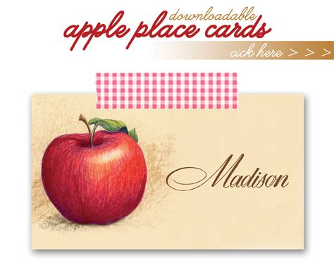 apples to apples card template diy gold glittered apples and a freebie apple place