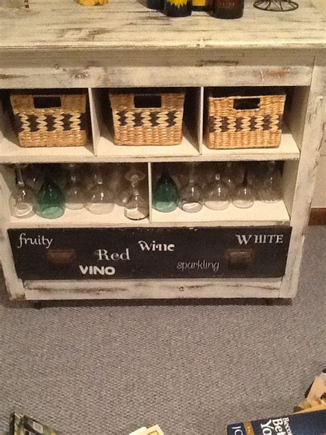 Dresser Turned Into Bar by Dresser Turned Into Wine Bar Projects I