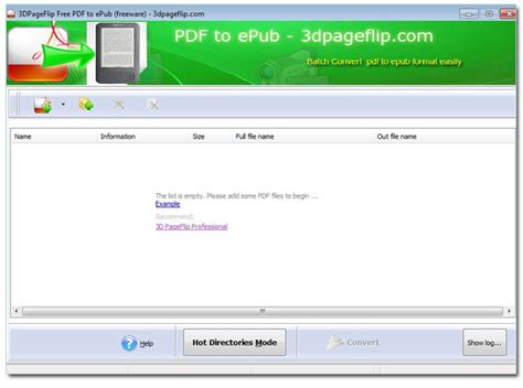 convert pdf ebook to epub