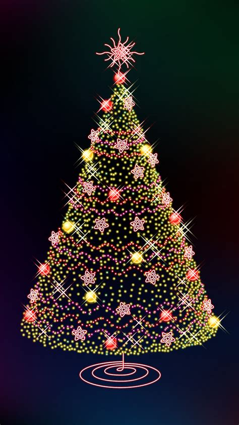 2015 christmas tree iphone 6 wallpaper hd iphone 6 wallpaper