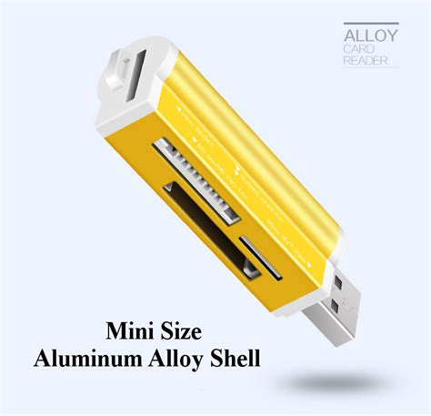 Card Reader All In One 5 Slot High Quality aszune all in one usb 2 0 ms duo ms pro micro sd ms t