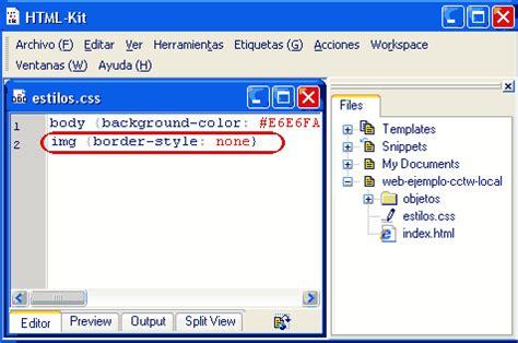 html imagenes sin borde los estilos css para las im 225 genes con enlaces