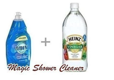 dawn bathroom cleaner vinegar dawn magic shower cleaner