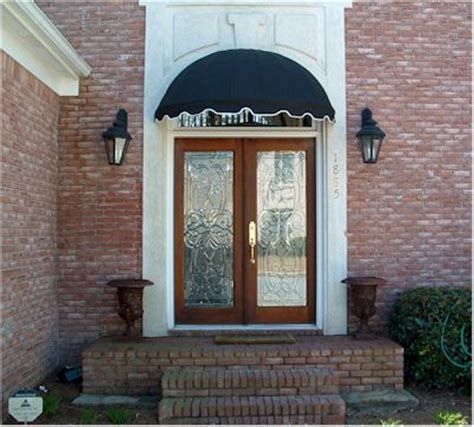 Front Door Canvas Awnings 5 039 Easyawn Dome Canvas Window Or Door Awning Canopy Ebay