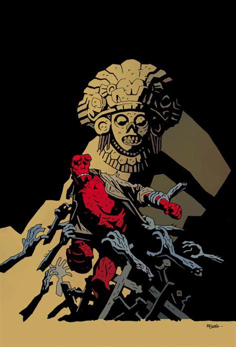 hellboy sort of returns in presents 7