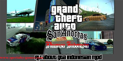 game gta sanandreas pc mod indonesia download game gta san andreas versi indonesia pc