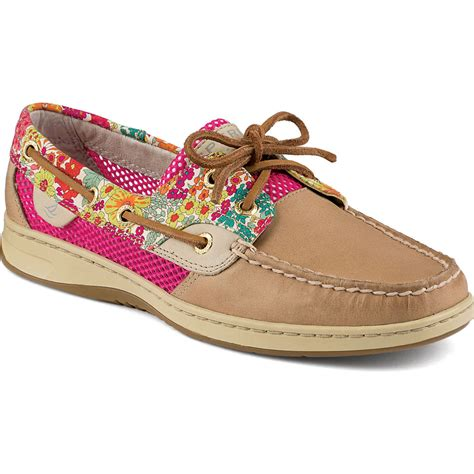 sperry top sider s bluefish liberty floral print 2