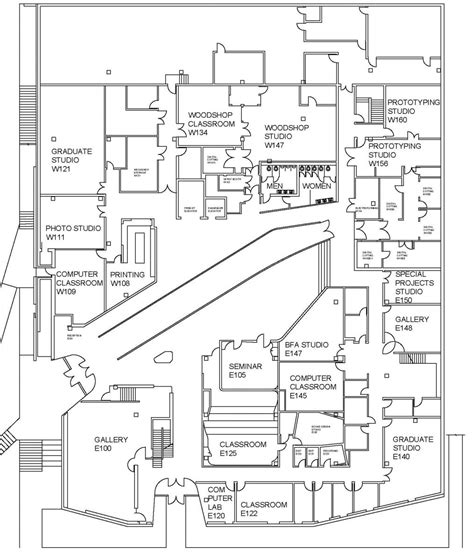 floor plan art visual arts building floor plans school of art and art
