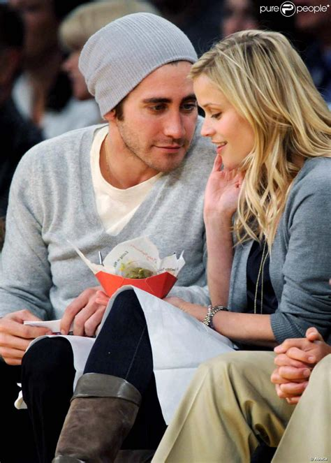 New Alert Reese And Jake by Reese Witherspoon Et Jake Gyllenhaal Amoureux Et