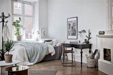 scandinavian bedroom 27 cool bedrooms and workspaces in one digsdigs