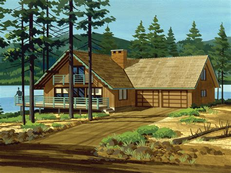 chalet cabin plans sioux trace chalet home plan 072d 1063 house plans and more