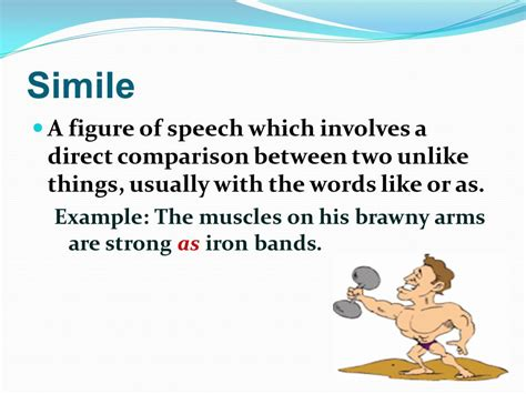 Sle Of Simile Figure Of Speech simile a figure of speech which involves a direct