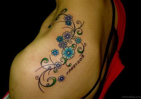 small floral tattoos 83 glorious flower tattoos on shoulder