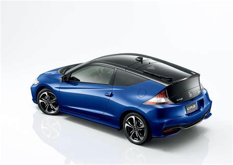updated 2016 honda cr z hybrid sports car revealed in