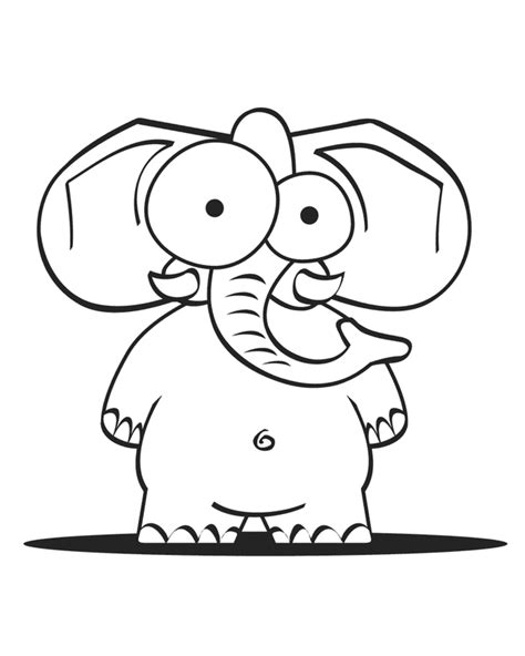 coloring pages of cartoon elephants cartoon elephant coloring pages coloring home