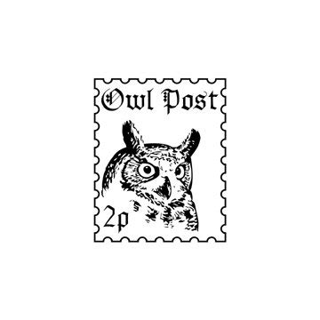 harry potter coloring book owl post harry potter owl post faux postage st rubber st