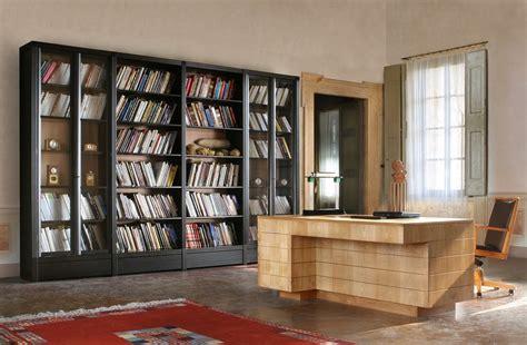 mobili biblioteca libreria in legno e vetro biblioteca libreria morelato