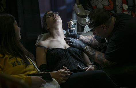 tattoo convention in ct tattoo lovers gather in scranton for eighth annual ec
