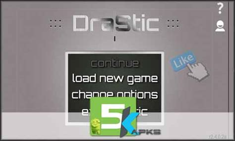 drastic ds emulator paid apk drastic ds emulator r2 5 0 3a apk version 5kapks get your apk free of cost
