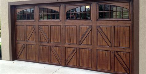 Faux Wood Garage Doors Faux Wood Garage Doors Fauxkc