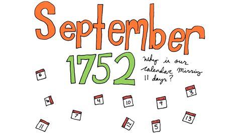 calendar of september 1752 calendar template