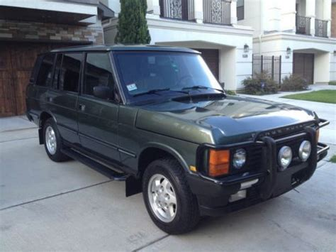range rover hunter buy used 1995 range rover county classic lwb hunter