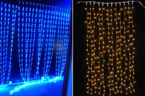 waterproof decoration blue led christmas lights clearance