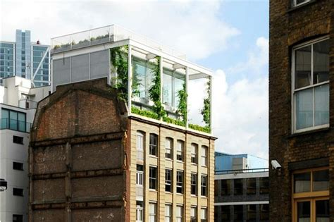 Apartment Building Roof Gorgeous Rooftop Garden Apartment Grows Above A Warehouse